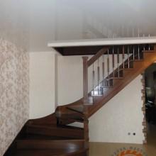 Деревянная лестница №07