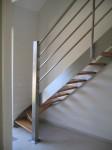 Лестница на металлокаркасе №07