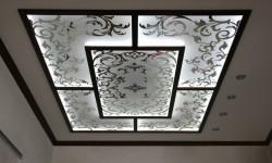 Потолок с витражами №03