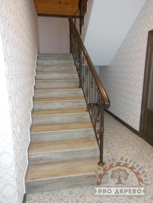 Деревянная лестница №13