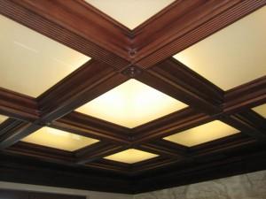 Потолок кессон №08