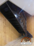 Деревянная лестница №11