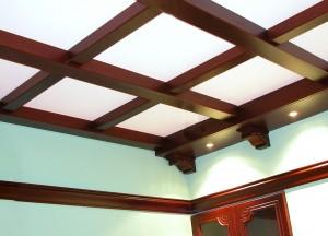 Потолок балочный №04