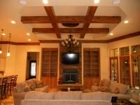 Потолок балочный №01