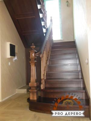 Деревянная лестница №06