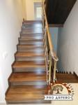 Деревянная лестница №14
