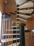 Деревянная лестница №08