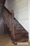 Деревянная лестница №01