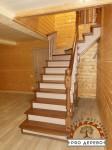 Деревянная лестница №04
