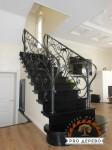 Деревянная лестница №09