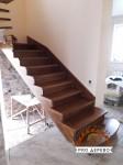 Лестница на металлокаркасе №01